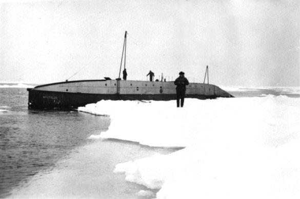 Экспедиция губерта уилкинса на подводной лодке (1931)