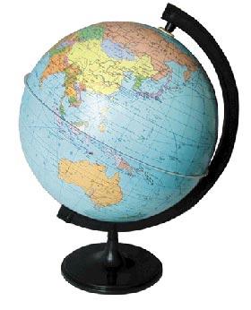 Глобус и карта