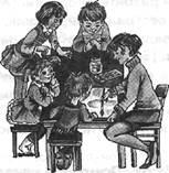 Игра «большие и маленькие дети»