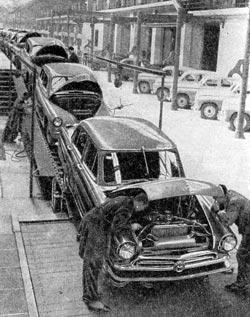 На машиностроительном заводе