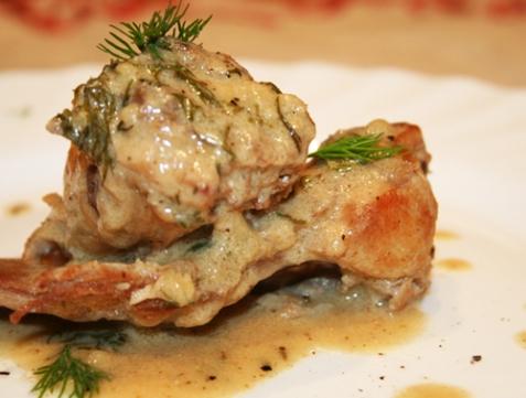 Оформление и подача блюд из морепродуктов