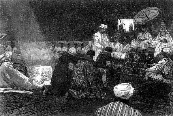 Татаро-монгольские завоеватели