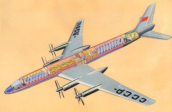 Воздушные лайнеры ссср